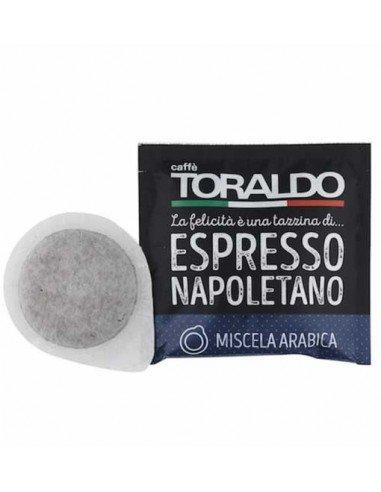 Cialde ESE 44mm Caffè Toraldo Espresso Napoletano - MIscela Arabica