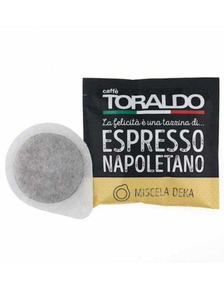 Cialde ESE 44mm Caffè Toraldo Espresso Napoletano - MIscela Deka