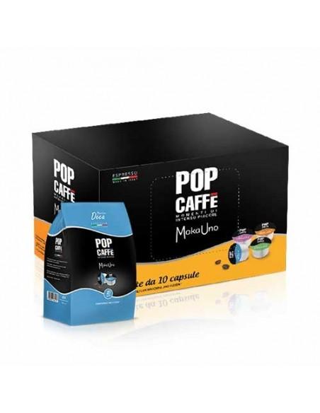 Capsule Uno System Pop Caffè MokaUno One Deca .4 (Buste da 10)