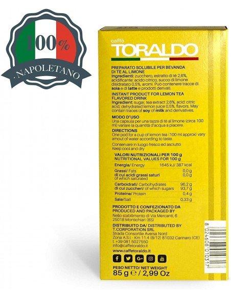 Capsule Nespresso Caffè Toraldo The al Limone