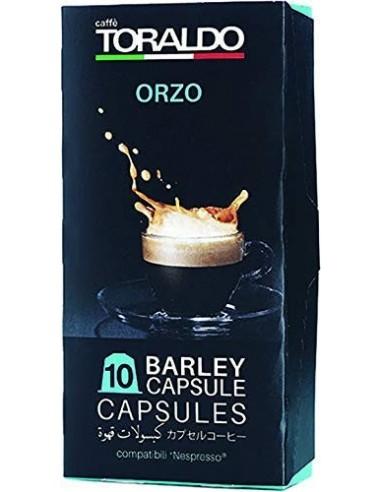 Compatibili 10 Capsule Nespresso Caffè Toraldo Orzo