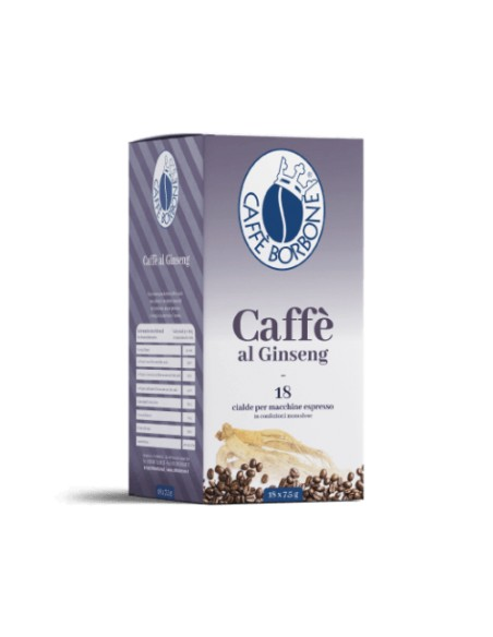 Compatibili 18 Cialde ESE 44mm Borbone Caffè Ginseng