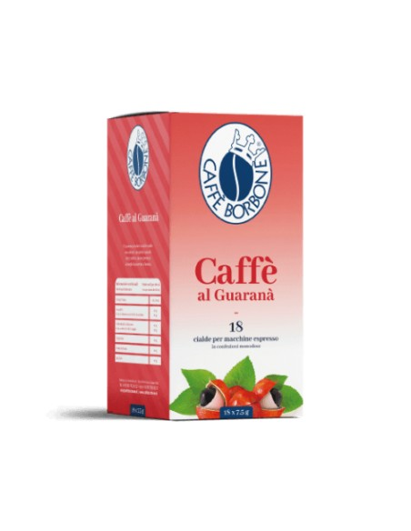 Compatibili 18 Cialde ESE 44mm Borbone Caffè Guaranà