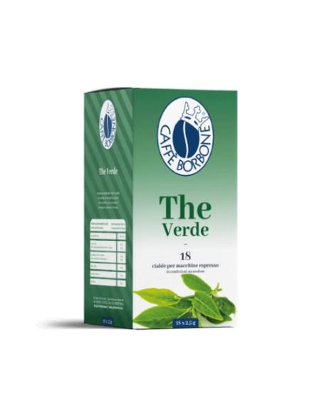 Compatibili 18 Cialde ESE 44mm Borbone The Verde
