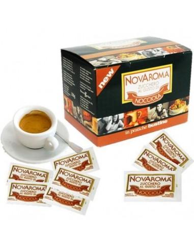 Novaroma Nocciola zucchero aromatizzato 50 Bustine