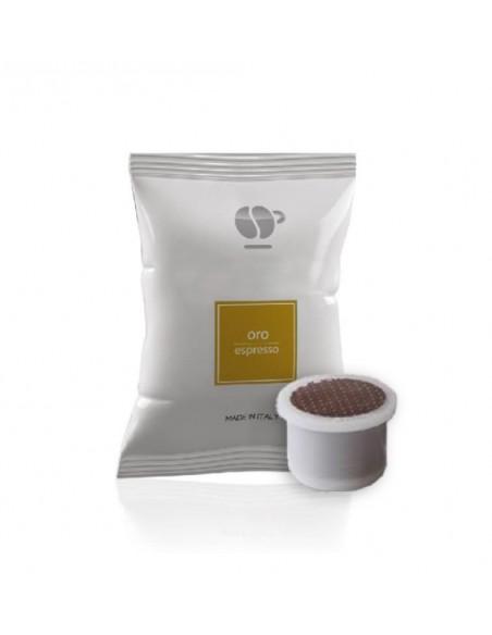 Compatibili 100 Capsule Uno System Caffè Lollo Oro