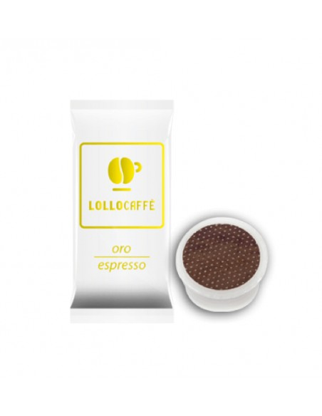 Compatibili 100 Capsule Point Caffè Lollo Oro