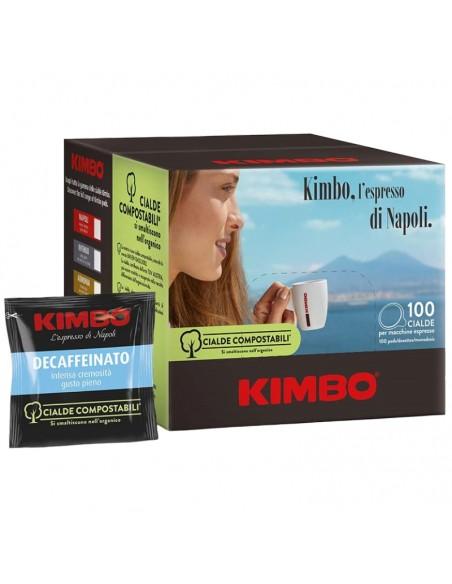 Compatibili 100 Cialde ESE 44mm Caffè Kimbo Espresso