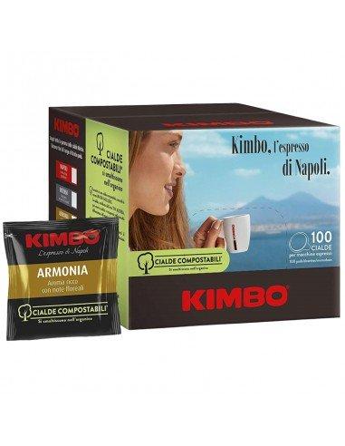 Compatibili 100 Cialde ESE 44mm Caffè Kimbo Espresso Armonia
