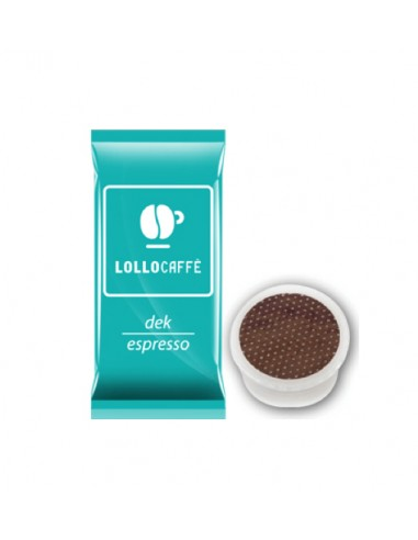 Compatibili 100 Capsule Point Caffè Lollo Dek