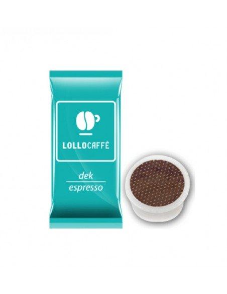 Compatibili 100 Capsule Point Caffè Lollo Dek