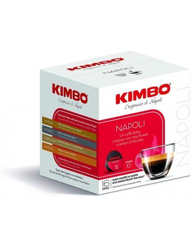 Compatibili 16 KIMBO CAPSULE NAPOLI – COMPATIBILI NESCAFÈ*