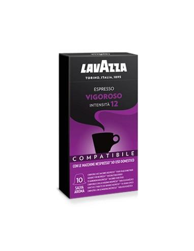 Compatibili 100 Capsule Lavazza Compatibili Nespresso Vigoroso