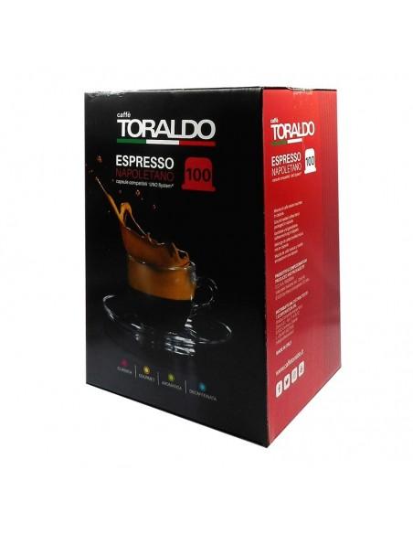 100 Capsule Uno System Caffè Toraldo Miscela Classica