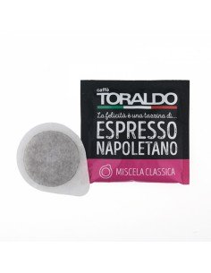 Compatibili 150 Cialde ESE 44mm Caffè Toraldo Miscela Classica