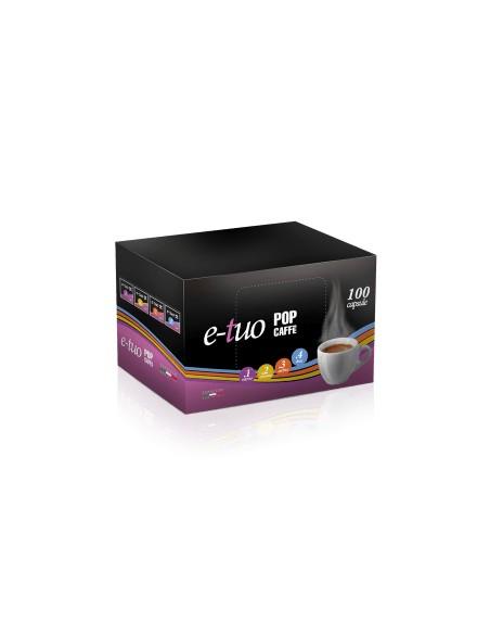 Compatibili 100 Capsule E-TUO MISCELA.1 INTENSO COMPATIBILI