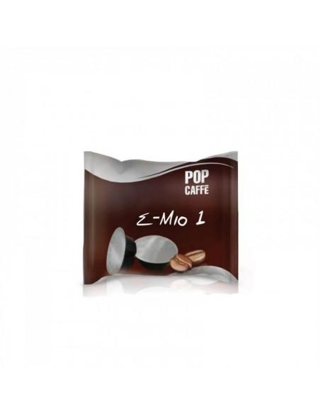 Compatibili 100 POP CAFFÈ CAPSULE E-MIO MISCELA 1 INTENSO