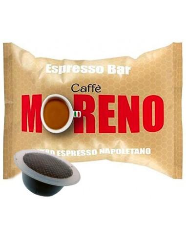 50 Capsule Bialetti Caffè Moreno Miscela Espresso Bar