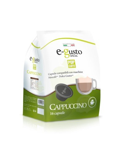Compatibili 16 Capsule Nescafè Dolce Gusto Pop Caffè Cappuccino