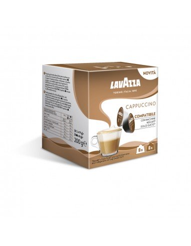 16 Capsule Nescafè Dolce Gusto Lavazza Espresso Cappuccino