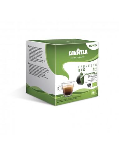 16 Capsule Nescafè Dolce Gusto Lavazza Espresso Bio