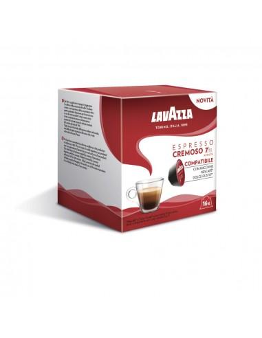 16 Capsule Nescafè Dolce Gusto Lavazza Espresso Cremoso