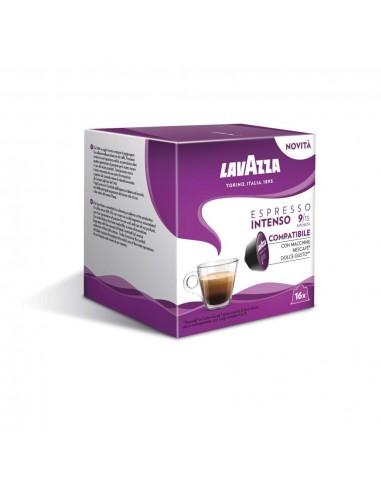 16 Capsule Nescafè Dolce Gusto Lavazza Espresso Intenso
