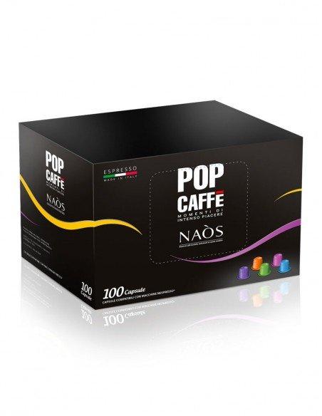 Compatibili 100 Capsule Pop Caffè Naos per Nespresso Miscela.2