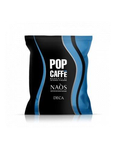 100 Capsule Pop Caffè Naos per Nespresso Miscela .4 Deca