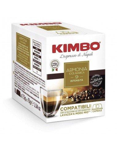 80 Capsule Kimbo Compatibili A Modo Mio Armonia