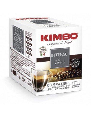 80 Capsule Kimbo Compatibili A Modo Mio Intenso