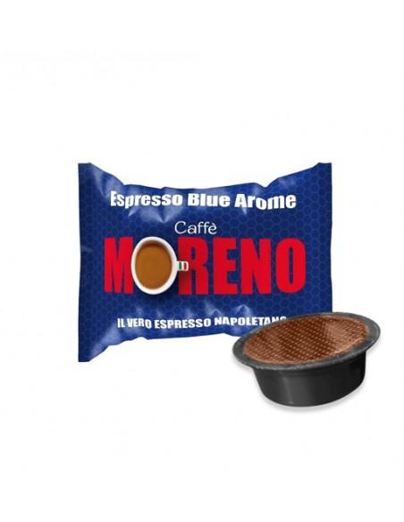 Compatibili 100 Capsule A Modo Mio Caffè Moreno Espresso Blue
