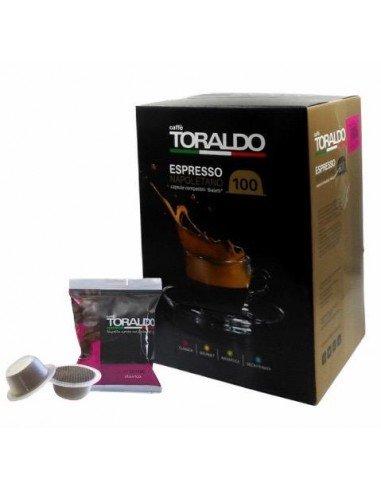 100 Capsule Bialetti Caffè Toraldo Miscela Classica