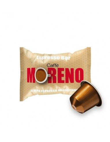 Compatibili 100 Capsule Nespresso Caffè Moreno Espresso Bar