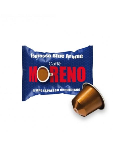 Compatibili 100 Capsule Nespresso Caffè Moreno Espresso Blu