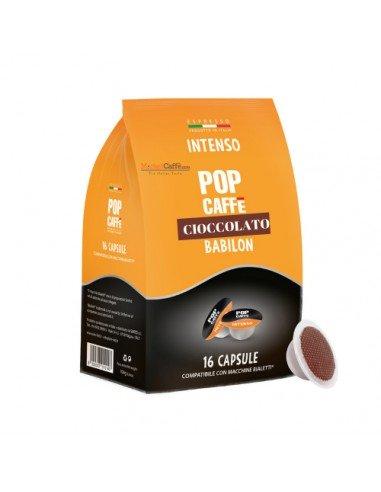 Compatibili 16 Capsule compatibili Bialetti Pop Caffè Cioccolato