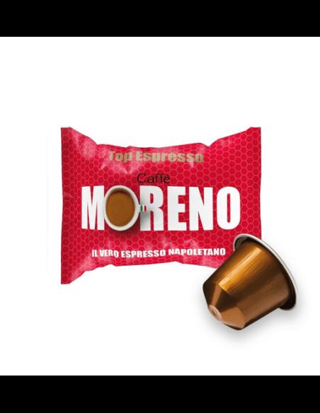 Compatibili 100 Capsule Nespresso Caffè Moreno Top Espresso