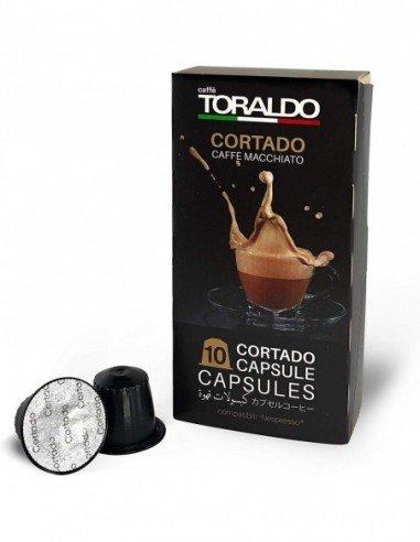 Compatibili 10 Capsule Nespresso Caffè Toraldo Latte Macchiato