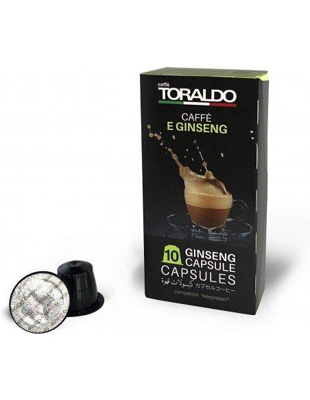 Compatibili 10 Capsule Nespresso Caffè Toraldo Caffè e Ginseng