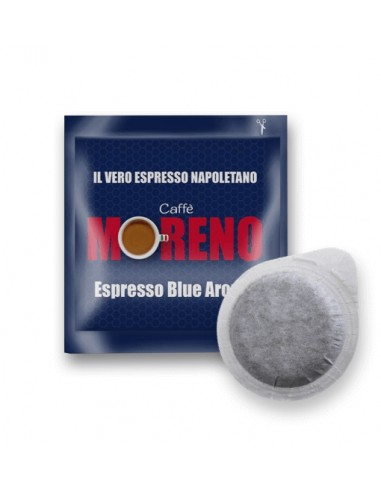 Compatibili 150 Cialde ESE 44mm Caffè Moreno Espresso Blu Arome