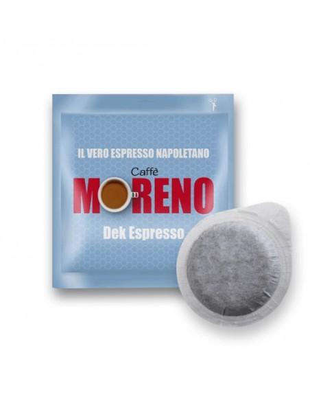 Compatibili 150 Cialde ESE 44mm Caffè Moreno Dek Espresso