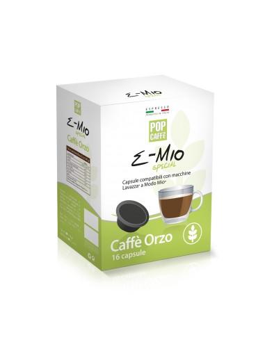 16 Capsule Lavazza A Modo Mio Pop Caffè E-Mio Orzo