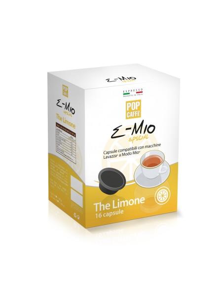 16 Capsule Lavazza A Modo Mio Pop Caffè E-Mio The Limone