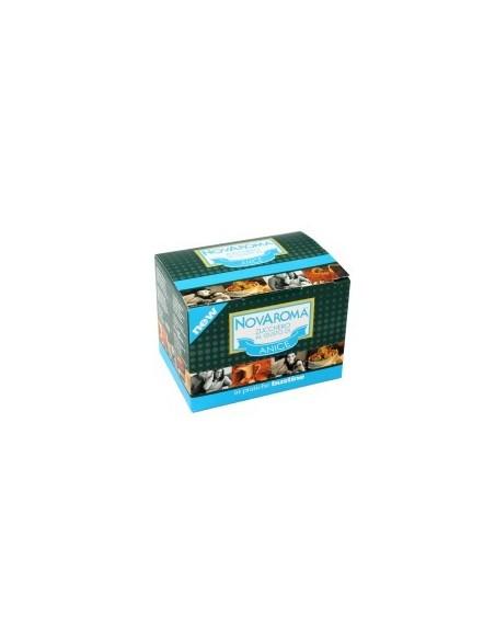 Novaroma Anice zucchero aromatizzato 50 Bustine
