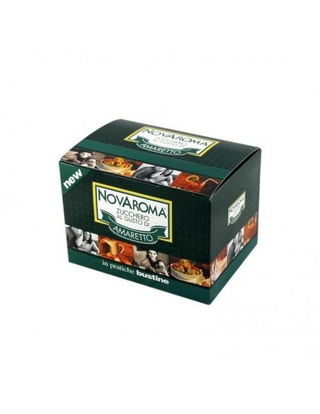 Novaroma Amaretto Zucchero Aromatizzato 50 Bustine