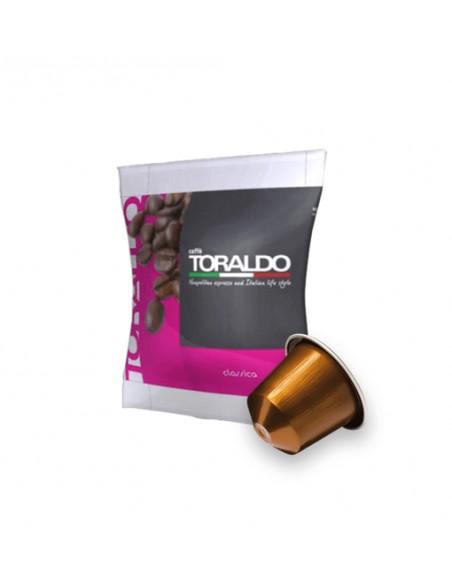 Compatibili 100 Capsule Nespresso Caffè Toraldo Miscela Classica