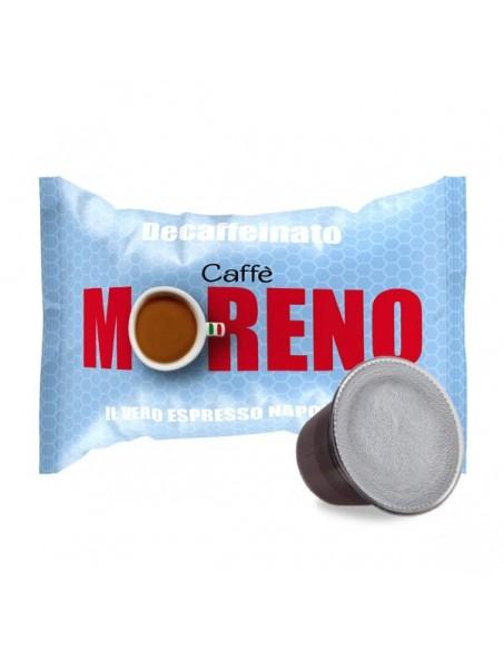 Compatibili 100 Capsule Nespresso Moreno Miscela Decaffeinata