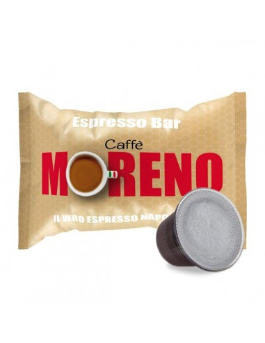 Compatibili 100 Capsule Nespresso Moreno Miscela Espresso Bar