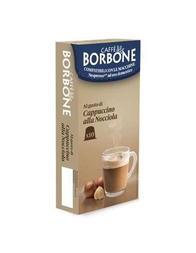 Compatibili 10 Capsule Nespresso Borbone Cappuccino alla