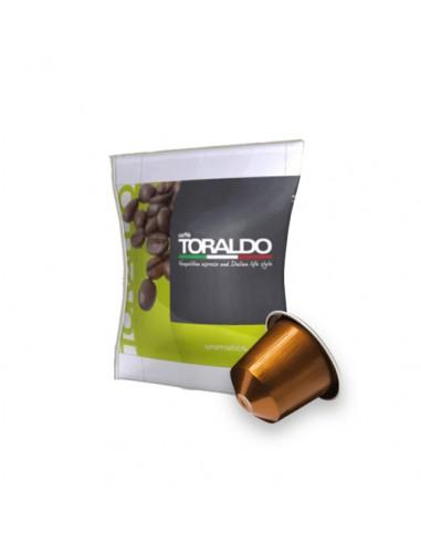 Compatibili 100 Capsule Nespresso Caffè Toraldo Miscela